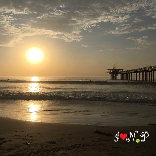 San Diego Sunset at Scripps Pier